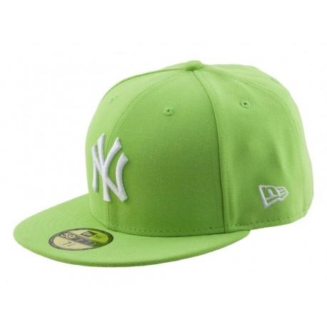 New Era Cappellino visiera piatta league basic new york yankees