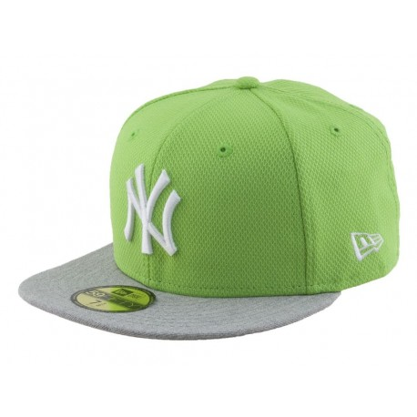 New Era Cappellino visiera piatta heathera new york yankees