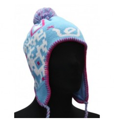 Ies Cappello invernale peruvian puf hat