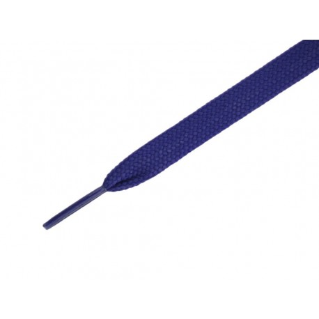 Ies Lacci piatti per scarpe monocolore blu
