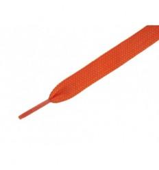 Ies Lacci piatti per scarpe monocolore arancione