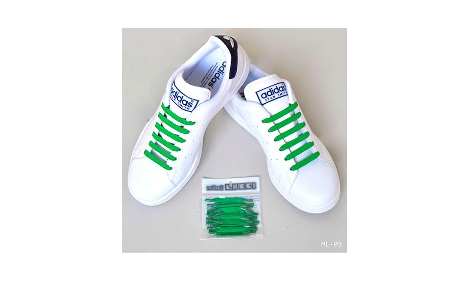 Mini lacci Lacci elastici per scarpe ginnastica 12 pz ML 02